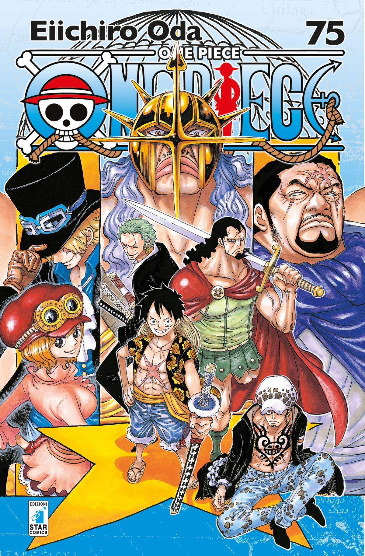 One Piece Volume 75 New Edition by Star Comics | One Piece Mania