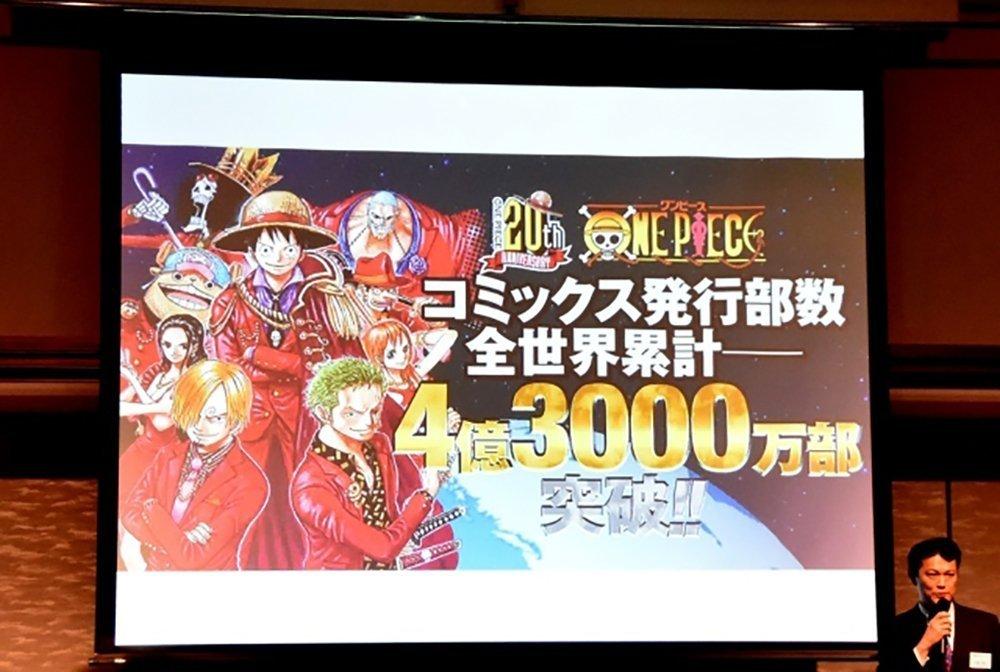 430 milioni copie vendute per One Piece   One Piece Mania