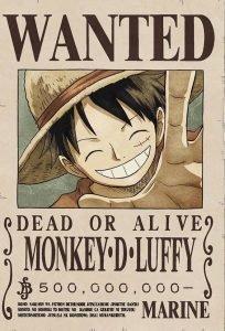 taglia Luffy