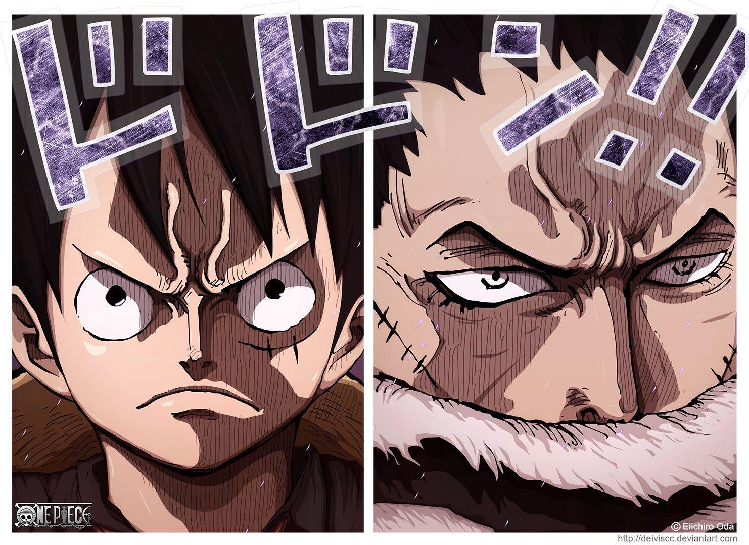 Luffy vs Katakuri: la privazione del Haki dell'Osservazione