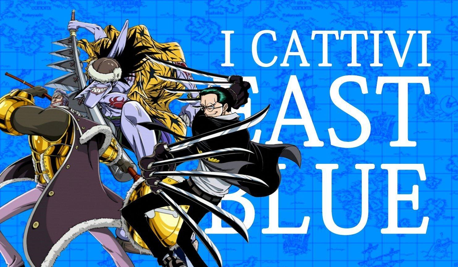 Etimologia Nipponica: i cattivi dell'East Blue | One Piece Mania