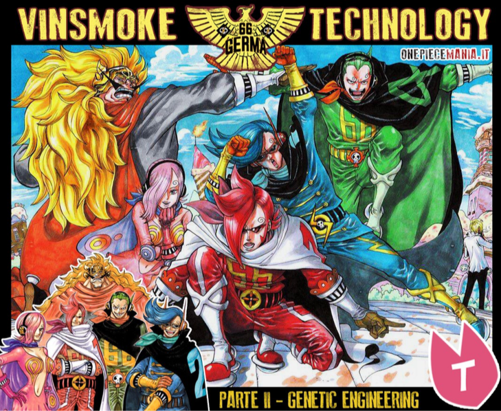 Vinsmoke Technology: Pt. II – Genetic Engineering | One Piece Mania