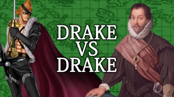 X Drake VS Francis Drake: analisi del personaggio | One Piece Mania